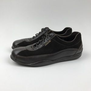 MEN'S MEPHISTO DARK BROWN Leather Casual Shoes